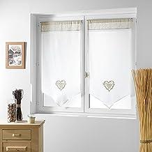 visillos para ventanas. Black Bedroom Furniture Sets. Home Design Ideas