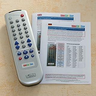 Service-Fernbedienung für Samsung E- und ES-Serie