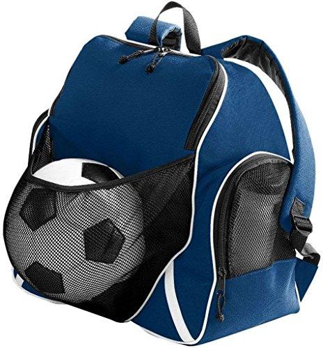 Augusta Sportswear sfera di 3colori zaino, UOMO, Nero/nero/bianco Navy/Black/White