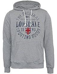 "Lonsdale ""Barham"" Hoody (grey)"