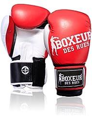 Boxeur Des Rues Fight Activewear Guante de boxeo para niño, Fight Activewear, rojo
