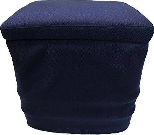 Preisvergleich Produktbild Freizeit Wittke Stoffhocker blau für Thetford Porta Potti 145 / 345 mit Polster