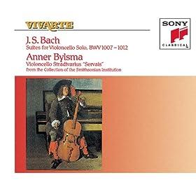Suite No. 2 in D Minor, BWV 1008: Suite No. 2 in D Minor, BWV 1008: III. Courante