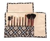 #6: Puna Store® 9 Piece Makeup Brush Set (Brown)