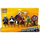 Fisher Price Imaginext DC Super Friends Héroes & Villians 5 Figura Paquete