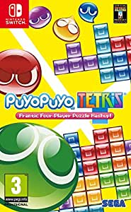Puyo Puyo Tetris: Frantic Four-Player Puzzle Mashup - Nintendo Switch
