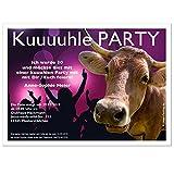 Einladungskarten für Partys Feste Feiern - Geburtstag - Silvester - Hochzeit - witzig und originell, 90 Karten - 17 x 12 cm