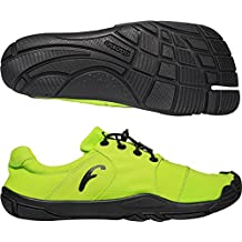 Freet Leap Zapatillas de Running Verde Amarillo Talla:Talla 37