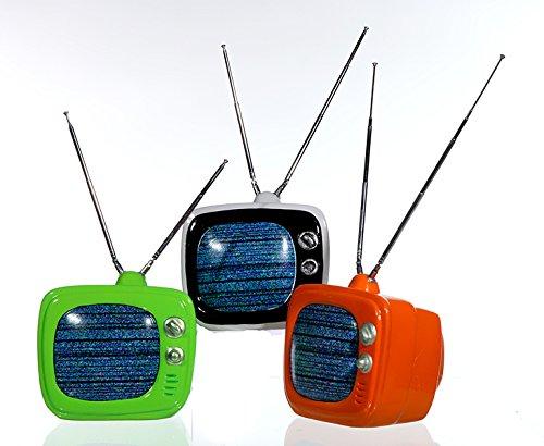 """Produktbild tolle Keramik Spardose """"Fernseher"""", im Retrolook 14 x 12 cm Sparbüchse Geschenk TV Spardose mit Antenne Geldgeschenk usw"""