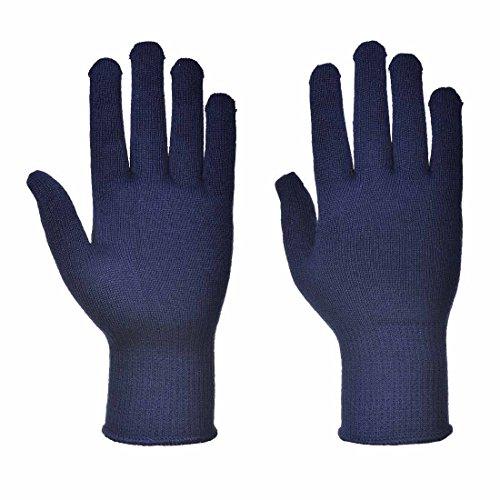 Thermolite-leichte Handschuhe (Portwest–12Paar Pack Thermolite Thermofutter Hand Schutz Handschuh, X-Large, navy, 12)