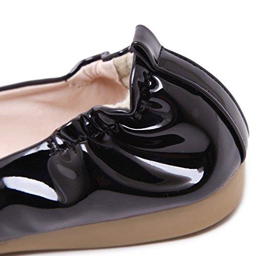 SmilunWbfj001 - Pantofole Donna Nero