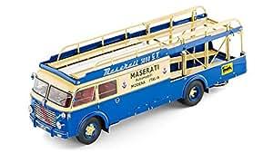 Cmc - M-097 - Véhicule Miniature - Modèles À L'échelle - Fiat 642 Rn2 Bartoletti - Transporteur Maserati - Echelle 1/18