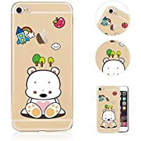 Compatible para iPhone 6S Plus Funda,QianYang Funda 6 Plus Carcasas para iPhone6S Plus 5.5pulgada Funda Cases Suave TPU Cover