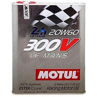 6 Liter Motul SAE 20w60 300V Le Mans Motor Öl