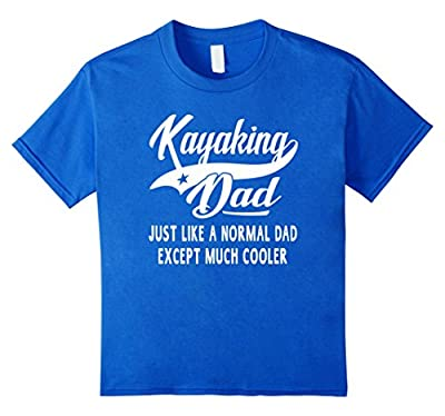 Men's Kayaking Dad Father's Day Gift Men Kayaker T-shirt from Outdoor Activity Tee Shirts