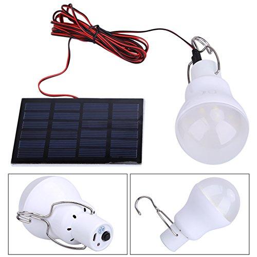 Método utilizado: 1. Fijar el panel fotovoltaico en un ángulo de posición con más larga duración y más suficiente luz solar 2. Leading cables panel en un espacio para conectar el bulbo para formar un estado de carga 3. Pulsar un interruptor para usar...