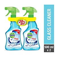 Dettol Glass Cleaner 500ml Twin Pack 20% OFF