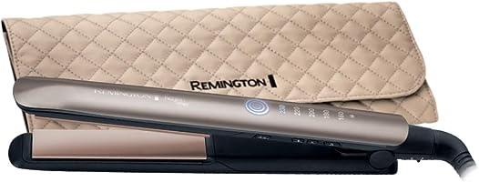 Remington Haarglätter Keratin Therapy S8590, innovativer Hitzeschutzsensor, braun