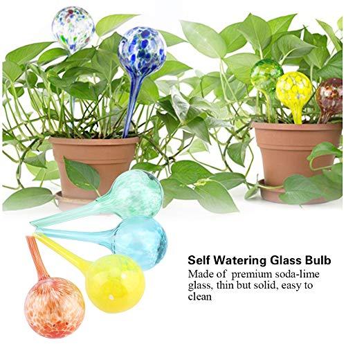 Bulbi In Vaso Di Vetro.Garosa 4pcs Bulbi D Innaffiatura Della Pianta Dispositivo Automatico Dell Acqua Delle Palle Dei Globi Di Vetro Di Auto Irrigazione Per Le Piante Da