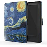 "MoKo Funda para Kindle 8th Generación - Funda de SmartShell Más Delgada y Ligera con Auto Sueño / Estela para Amazon All-New Kindle E-reader (6"" Display, 8th Generacón 2016), Noche Estrellada (No es compatible con el kinlde paperwhite)"