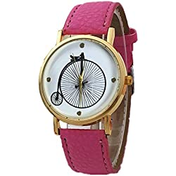 Ladies leather strap watches