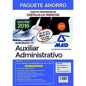 Paquete Ahorro Cuerpo Auxiliar Administrativo de la Junta de Comunidades de Cast