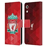 Official Liverpool Football Club Red Geometric 1 Crest 1 PU