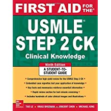 First aid for the USMLE steps ck