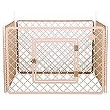 IRIS, Welpenauslauf / Freigehege / Laufstall / Welpengitter H-604, Kunststoff, beige, 90 x 60 cm (1 Panel)