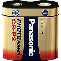 Panasonic CRP2L Pile foto al litio, 1600 mAh,6V (Importato da Germania)