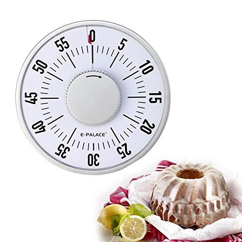 Digitaler Küchentimer, 60-Minütiger Countdown, Magnetischer Mechanischer Erinnerungstimer Mit Großem Bildschirm