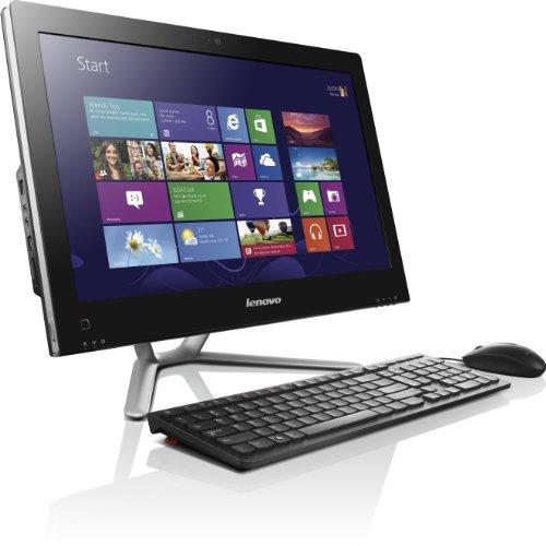 Lenovo C455 54,6 cm (21,5 Zoll) All-in-One Desktop-PC (AMD A4-5000, 1,5GHz, 4GB RAM, 500GB HDD, NVIDIA GeForce 705A/1GB, Win 8) schwarz