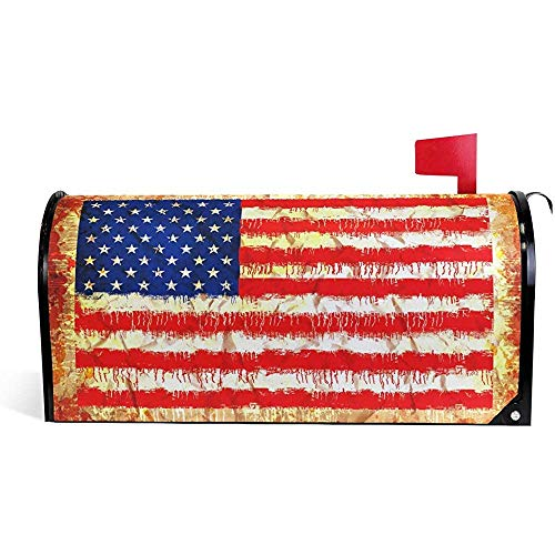 American Standard Hardware (Mailbox Cover American Flag Mailbox Cover Standard Size-21x18 in)