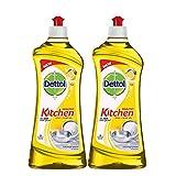#9: Dettol Kitchen Dish and Slab Gel Lemon Fresh - 750 ml (Pack of 2)