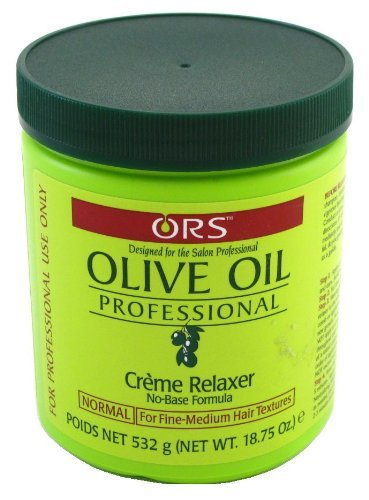 Professional Creme Relaxer (Relaxer / Glättungscreme Organic Root Stimulator Olive Oil Professional Creme Relaxer.)