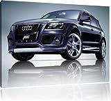 Audi Q7, peinture sur toile, format XXL support en bois, Leinwand Format:120x80 cm