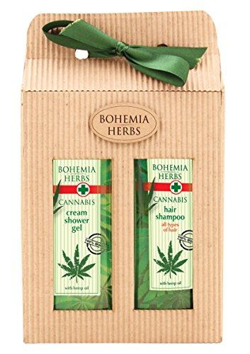 Cannabis Gel de ducha & champú-Paquete de regalo (Original Pure Natural cosméticos