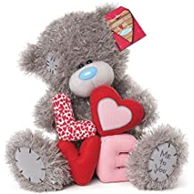 peluche ours me to you love letters 23 cm