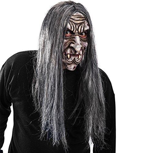 Carnival Toys - Máscara látex vampiro rugoso pelo