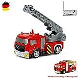 HSP Himoto RC Mini Camion de Pompier télécommandé avec Effets Lumineux 1:58...