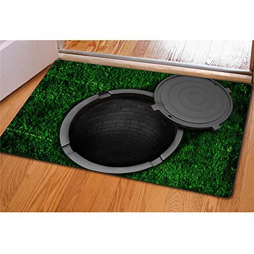 Coloranimal Fußmatte mit Lustigem 3D-Hund, Rutschfest, für den Außenbereich Modern Trap-5
