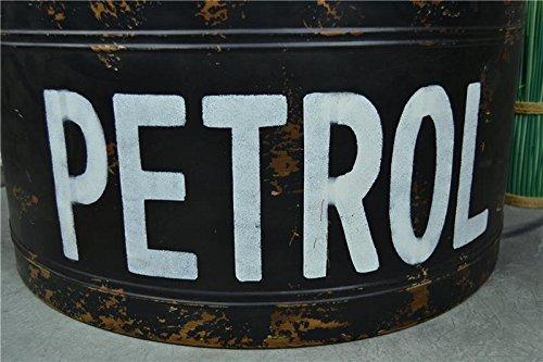 Livitat® Couchtisch Beistelltisch Metall Ölfass Vintage Industrie Look LOFT Shabby LV5021 - 6