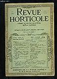 LA REVUE HORTICOLE 1939 N° 16 - Introduction.L'outillage horticole pour les façons culturales.-R. PONS.Les appareils d'arrosage et d'épandage d'engrais dissous. - R. PONS.Les instruments d'entretien des gazons. - F. LE LAY.Les pulvérisateurs en Horticultu