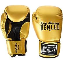 Benlee Rocky Marciano Rodney - Guante de boxeo (PVC), color dorado, talla 12