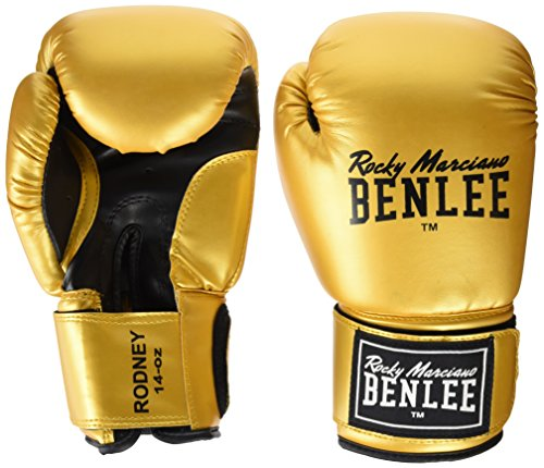 BENLEE Rocky Marciano Boxhandschuhe Training Gloves Rodney Gold/Black, 12