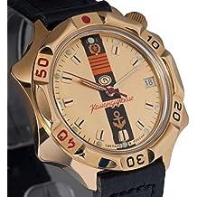 Vostok KOMANDIRSKIE 2414539217azul marino militar ruso reloj mecánico