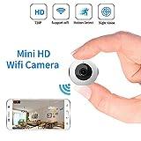 720P HD Mini Kamera Wireless WiFi Bewegungserkennung Überwachungskamera und Nachtsicht Versteckte Infrarot Tragbare Compact Kamera mit Für iPhone/Android/iPad