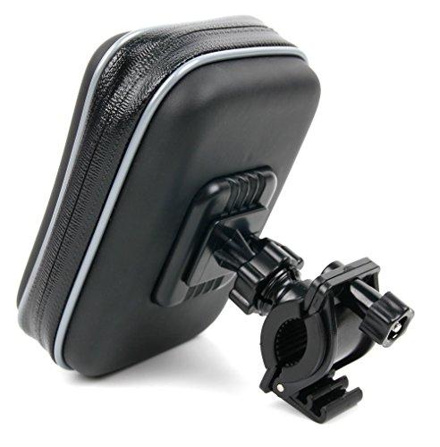DURAGADGET Bike Halterung + Tasche für TomTom XL 2 IQ Routes Edition, XXL IQ Routes Classic Central Europe Navi-Geräte
