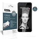Huawei P10 Pellicola Protettiva - 2x dipos Glass Protezione Vetro Flessibile 9H