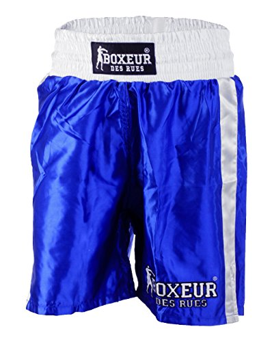 BOXEUR DES RUES BX-1167K Pantalones Cortos, Hombre, Azul, M